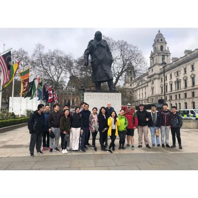 The Dahua Team on their 28 mile fundraising walk