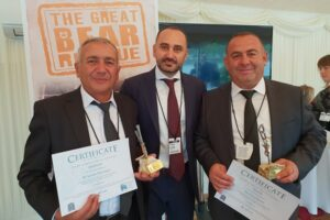 Samvel Gevorgyan, Ruben Khachatryan, and Ara Levonyan