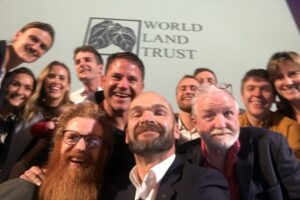 Monty Halls taking a selfie of all the One Wild Night speakers. Image: Monty Halls