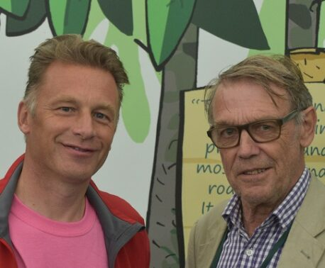 Chris Packham and John Burton