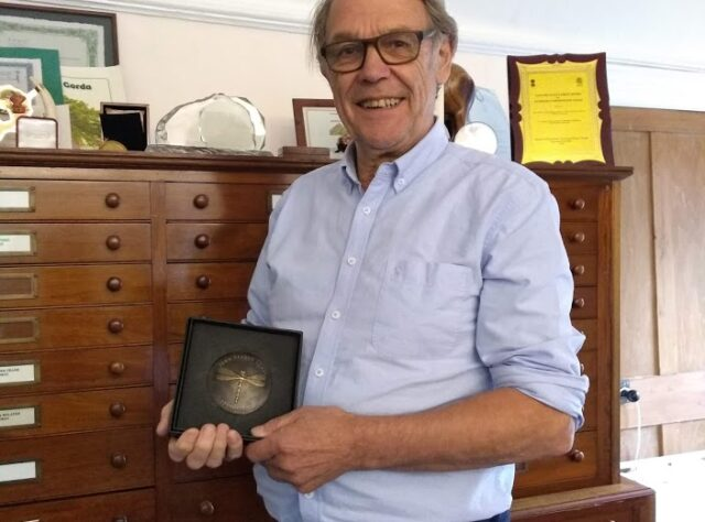 John Burton with John Spedan Lewis Award