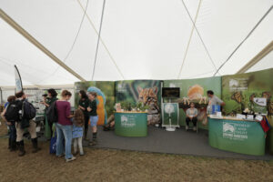 World Land Trust at Birdfair 2019