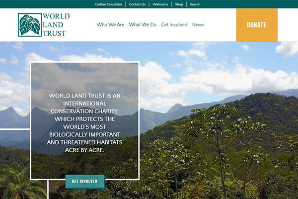 World Land Trust Homepage