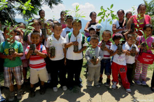 Community education and tree planting projects are very much part of GESG's work in Sierra Gorda