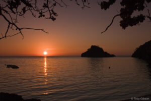 Danjugan Island at Sunset. © Tony Gibson