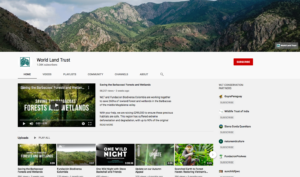 World Land Trust YouTube page