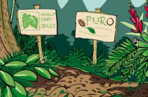 WLT and Puro Partnership ©PuroFairtradeCoffee