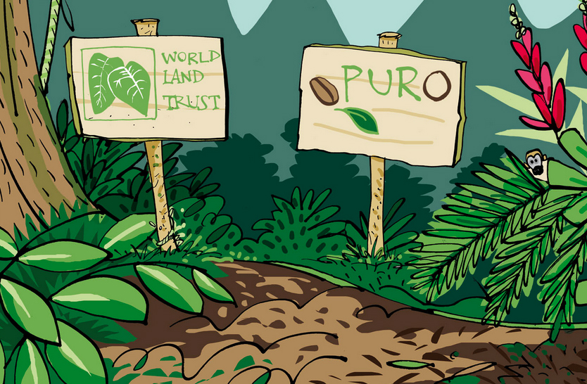 WLT and Puro Partnership ©PuroFairtradeCoffee