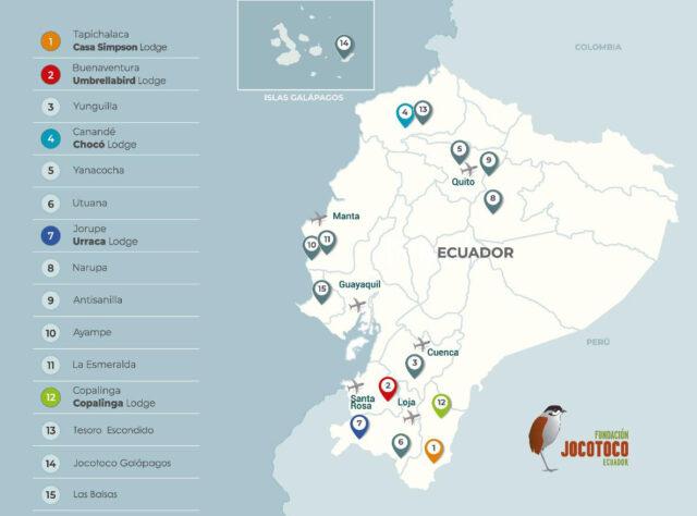 Fundación Jocotoco Reserves