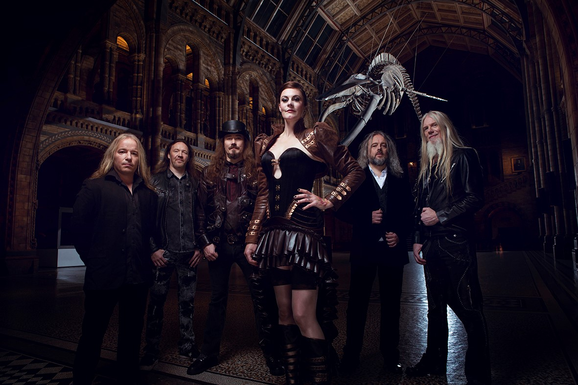 Nightwish. Credit: Tim Tronckoe