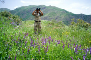 Ranger in the Caucasus Wildlife Refuge© David Bebber