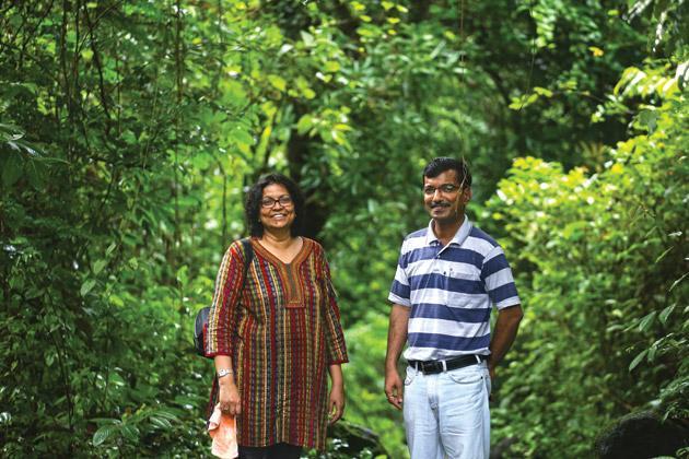 Dr Archana Godbole and Jayant Sarnaik, founders of AERF