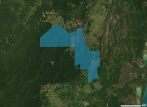 Rio Bravo shapefile map