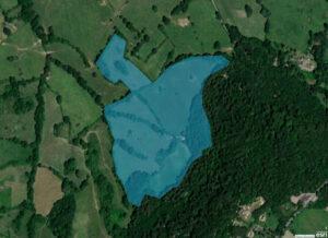 Kites Hill Map