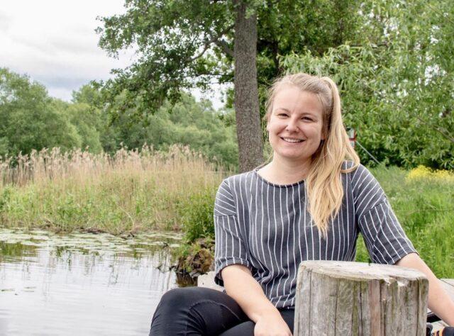 World Land Trust (WLT) Communications Officer Alice Wojcik