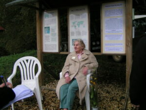 Jane Pointer at the Kites Hill open day