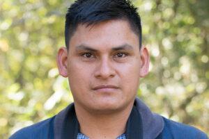 Portrait photograph of Chachi-born FJ ranger José Añapa has focused since Janua
