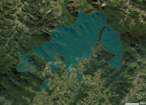 REGUA - interactive map