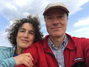 Marjorie Epson and Paul Mottram