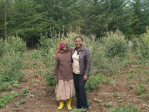 Nature Kenya is working with local farmers