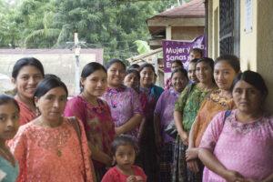 A group of women at the FUNDAECo women's clinic ©WLT/Dan Bradbury