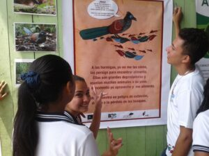 Keeper of the Wild outreach activities at a local school