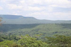 View of Tanzania landscape